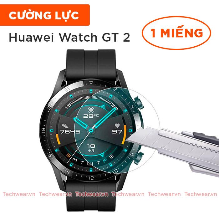 Kính cường lực Huawei watch GT 2