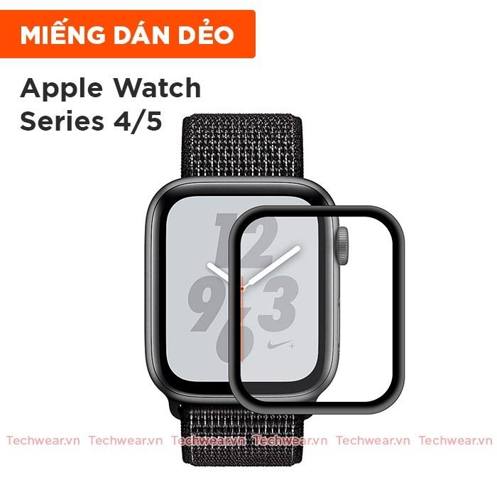 Miếng dán màn hình full viền cho Apple Watch Series 4/5