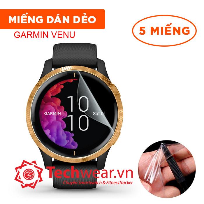 Miếng dán dẻo Garmin Venu/Vivoactive 4/Vivomove Luxe/Vivomove Style