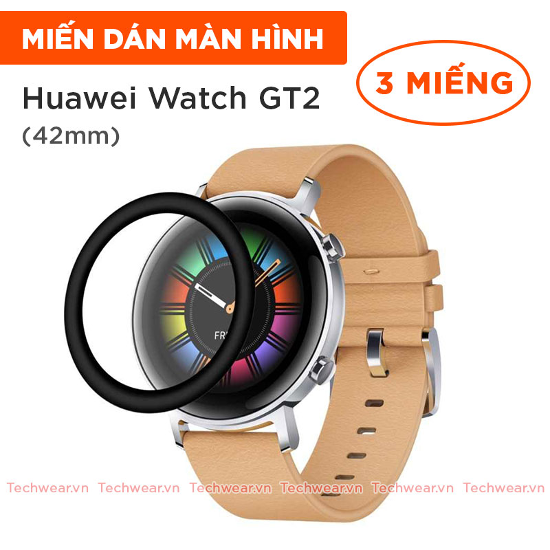 Miếng dán dẻo cho đồng hồ Huawei Watch GT 2 bản 42mm