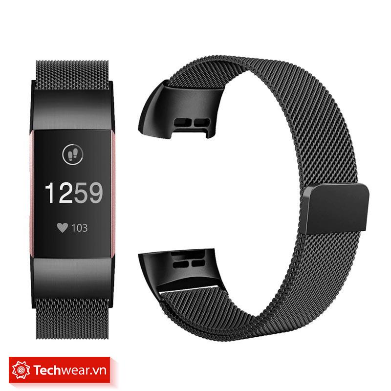 Dây thép lưới Fitbit Charge 4