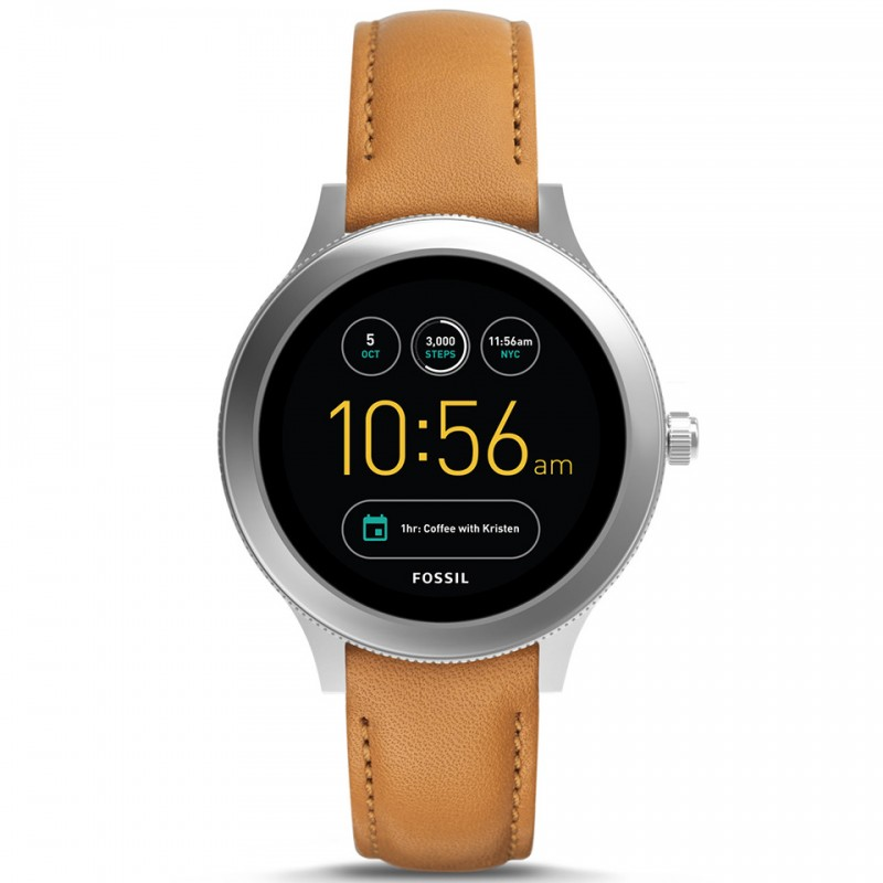 FOSSIL Gen 3 Smartwatch - Q Venture Lugage Leather FTW6007