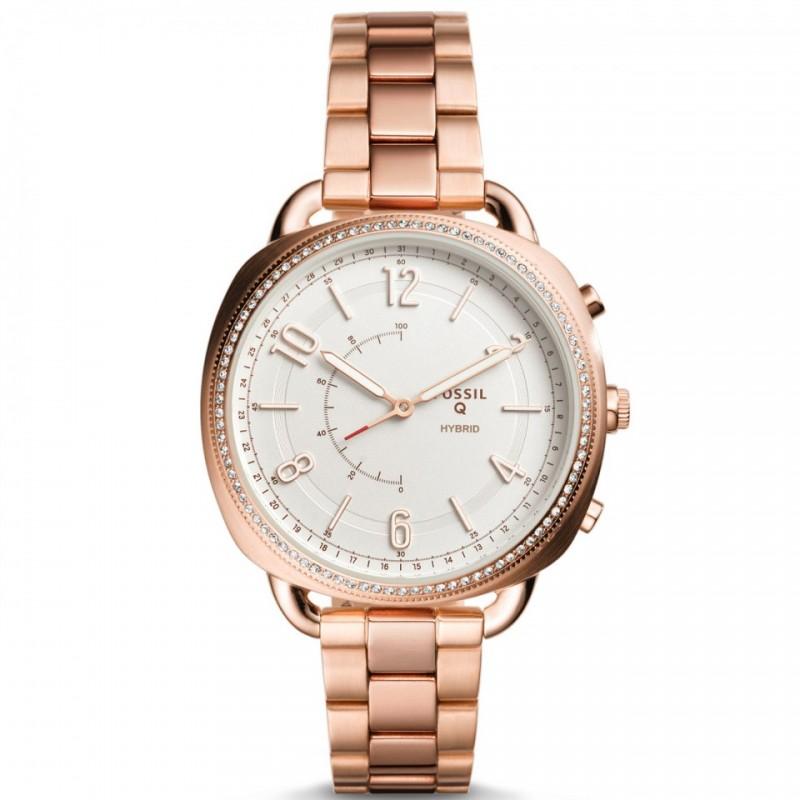 Đồng hồ thông minh Hybrid Fossil Q Accomplice Rose Gold FTW1208