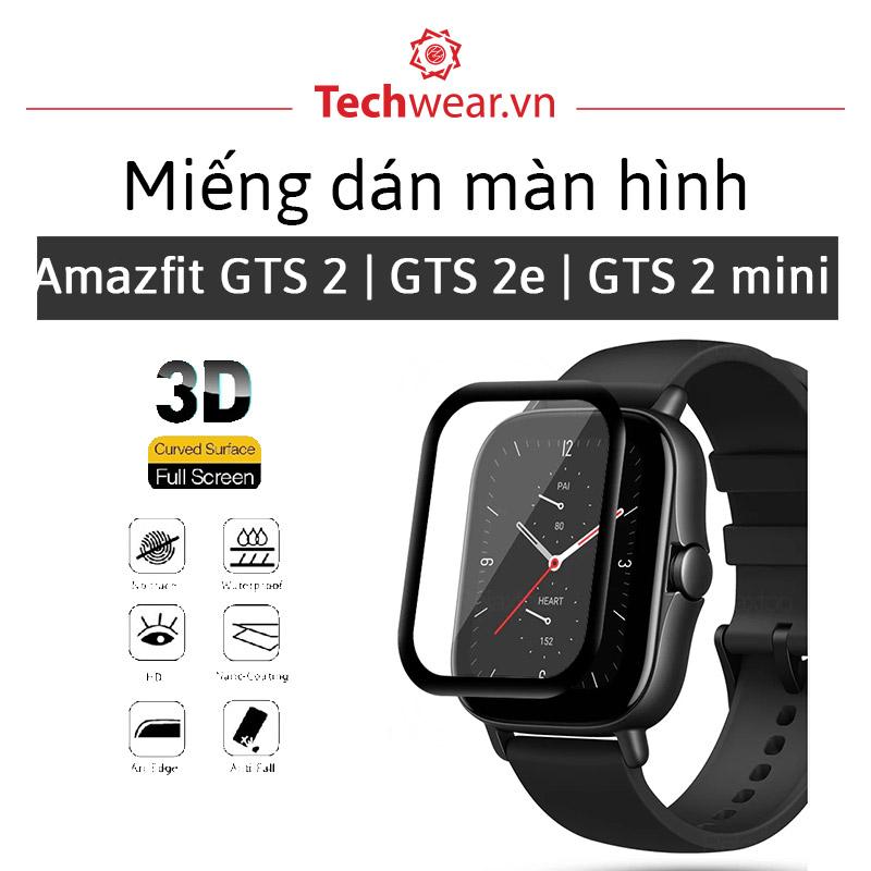 Miếng dán màn hình Huami Amazfit GTS 2, 2e và GTR 2, 2e