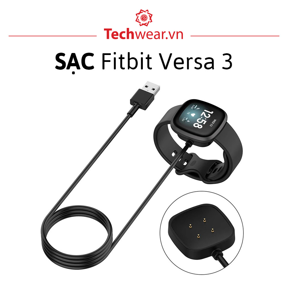 Sạc đồng hồ Fitbit Versa 3