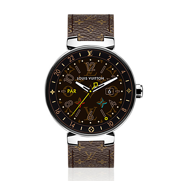 Louis Vuitton Tambour Horizon Monogram 42 (Brown)