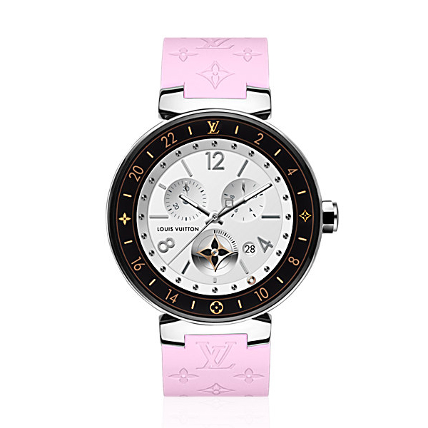 Louis Vuitton Tambour Horizon Monogram 42 (Pink)