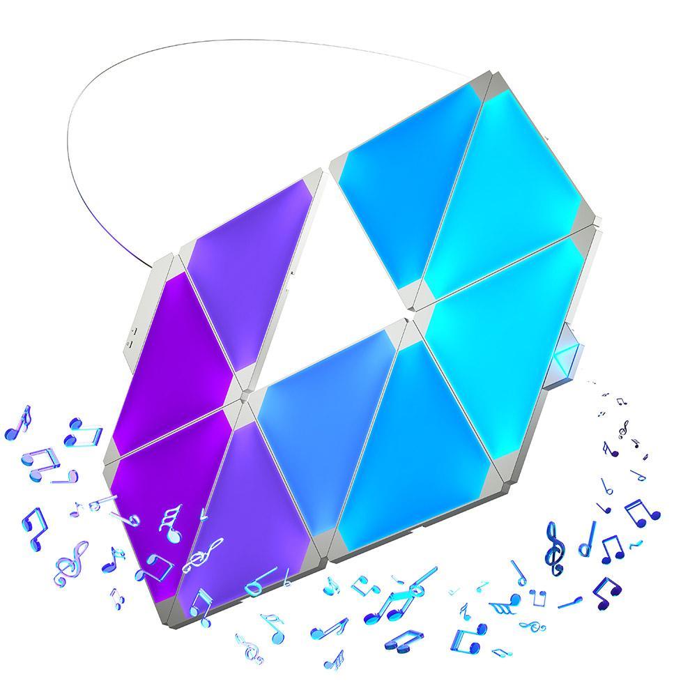 Bộ đèn Nanoleaf Aurora Rhythm (9 miếng)