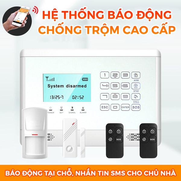 Hệ thống chống trộm dùng sim GSM gọi điện thoại TWYL-007M2BX
