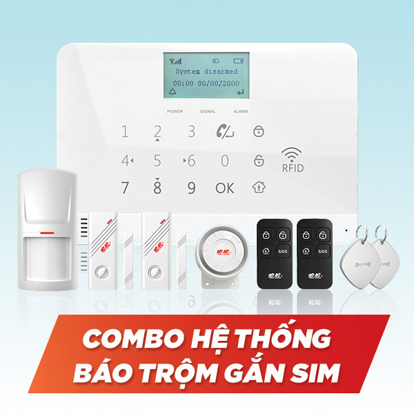 Hệ thống chống trộm dùng sim GSM gọi điện thoại TWYL-007MR1