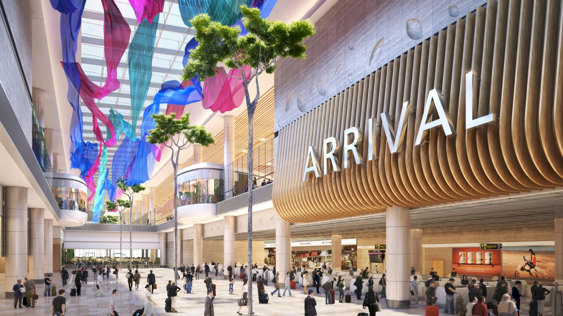 New Changi Airport Terminal 4 Designed by Benoy Unveiled