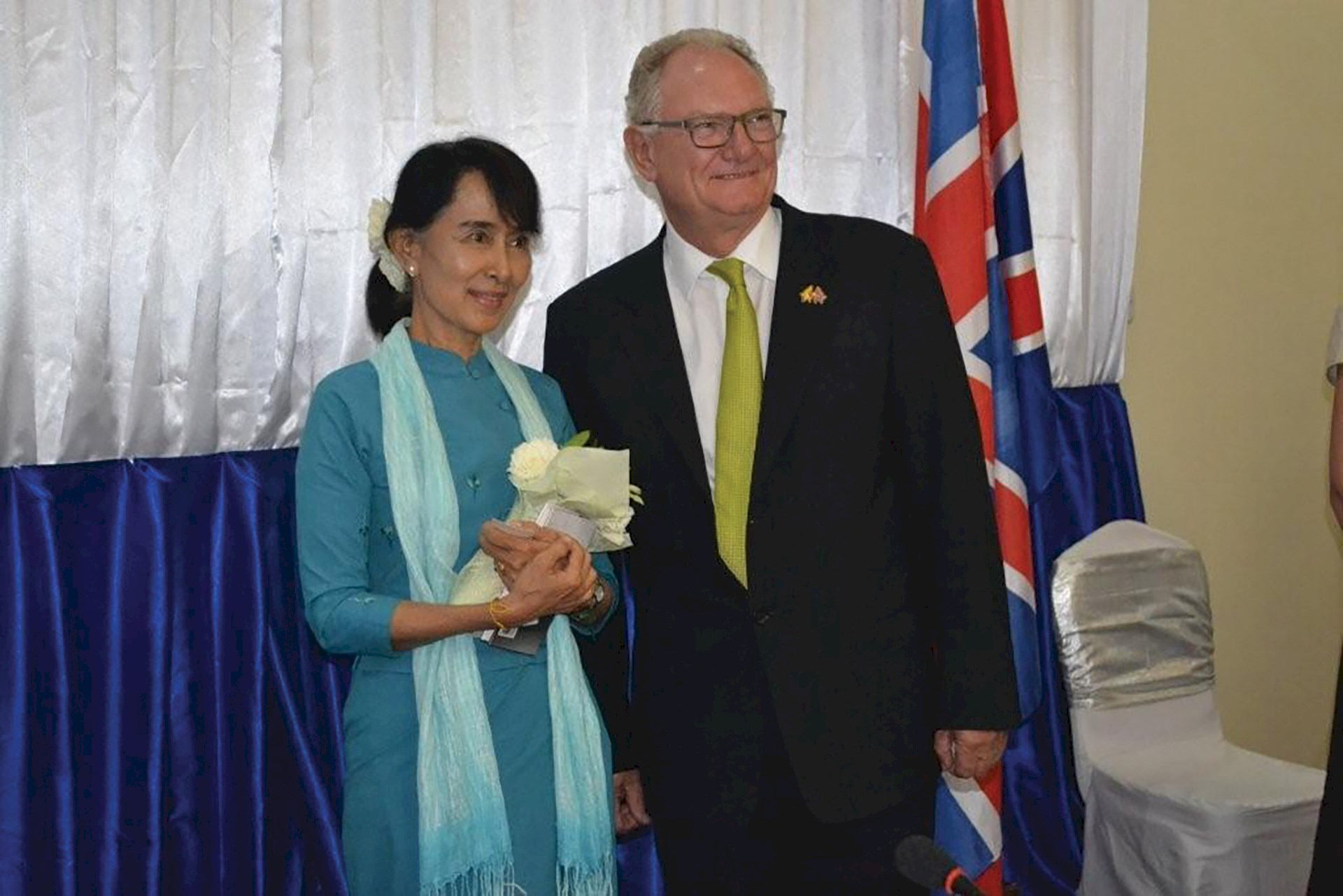 Benoy Joins Burma Trade Mission