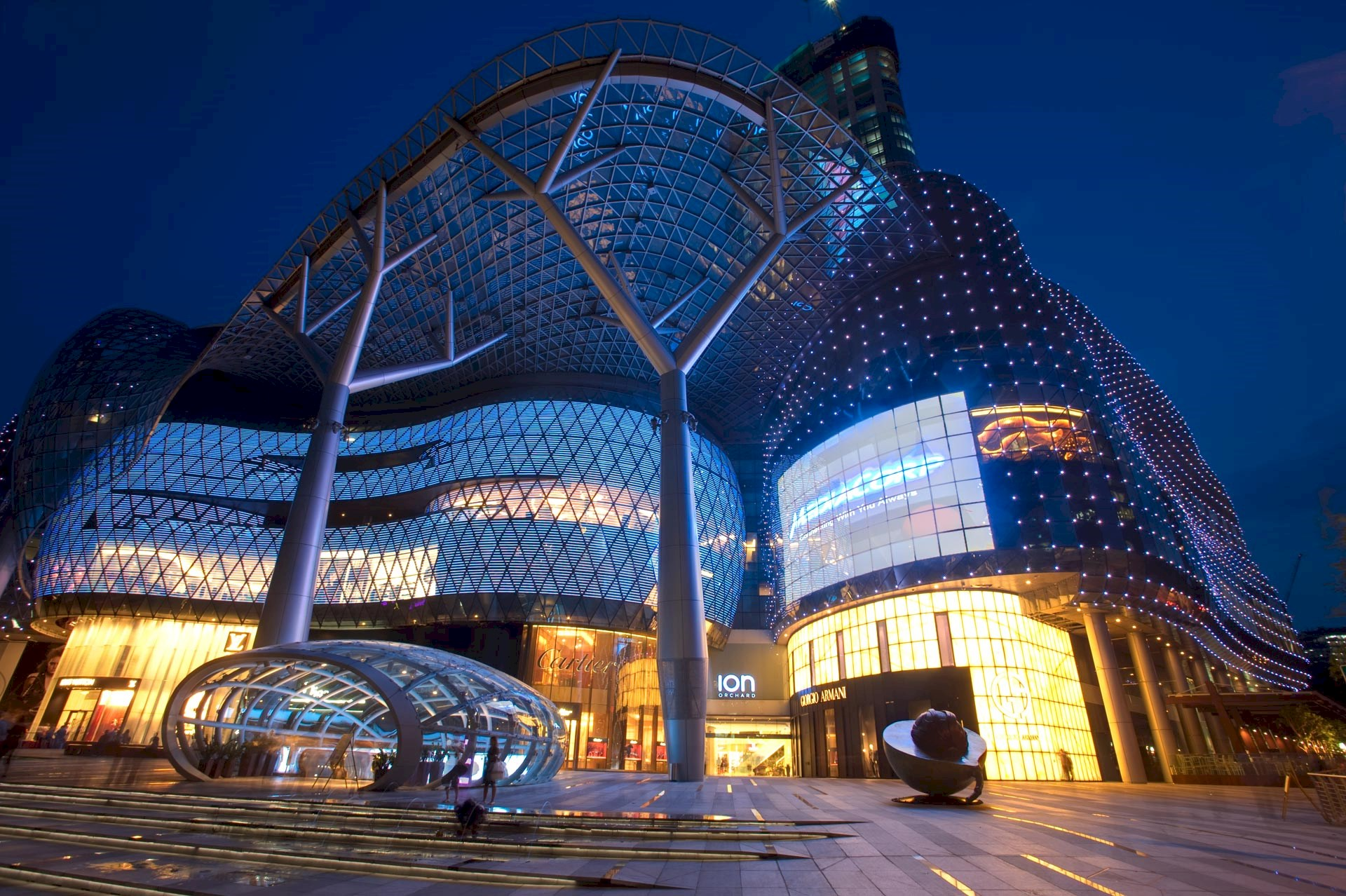 Benoy's ION Orchard, Singapore Receives Quality Building Award