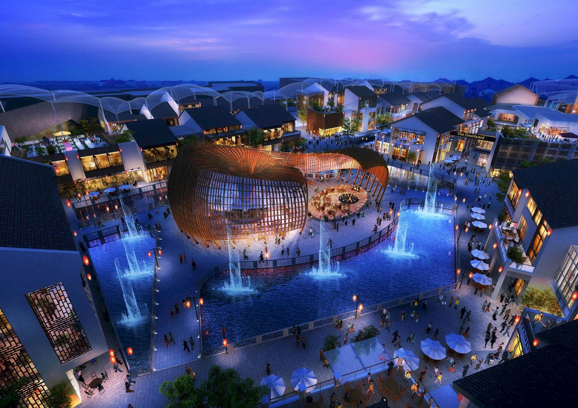 Benoy Appointed for Taihu New City and Wuxi Lan Kwai Fong Developments