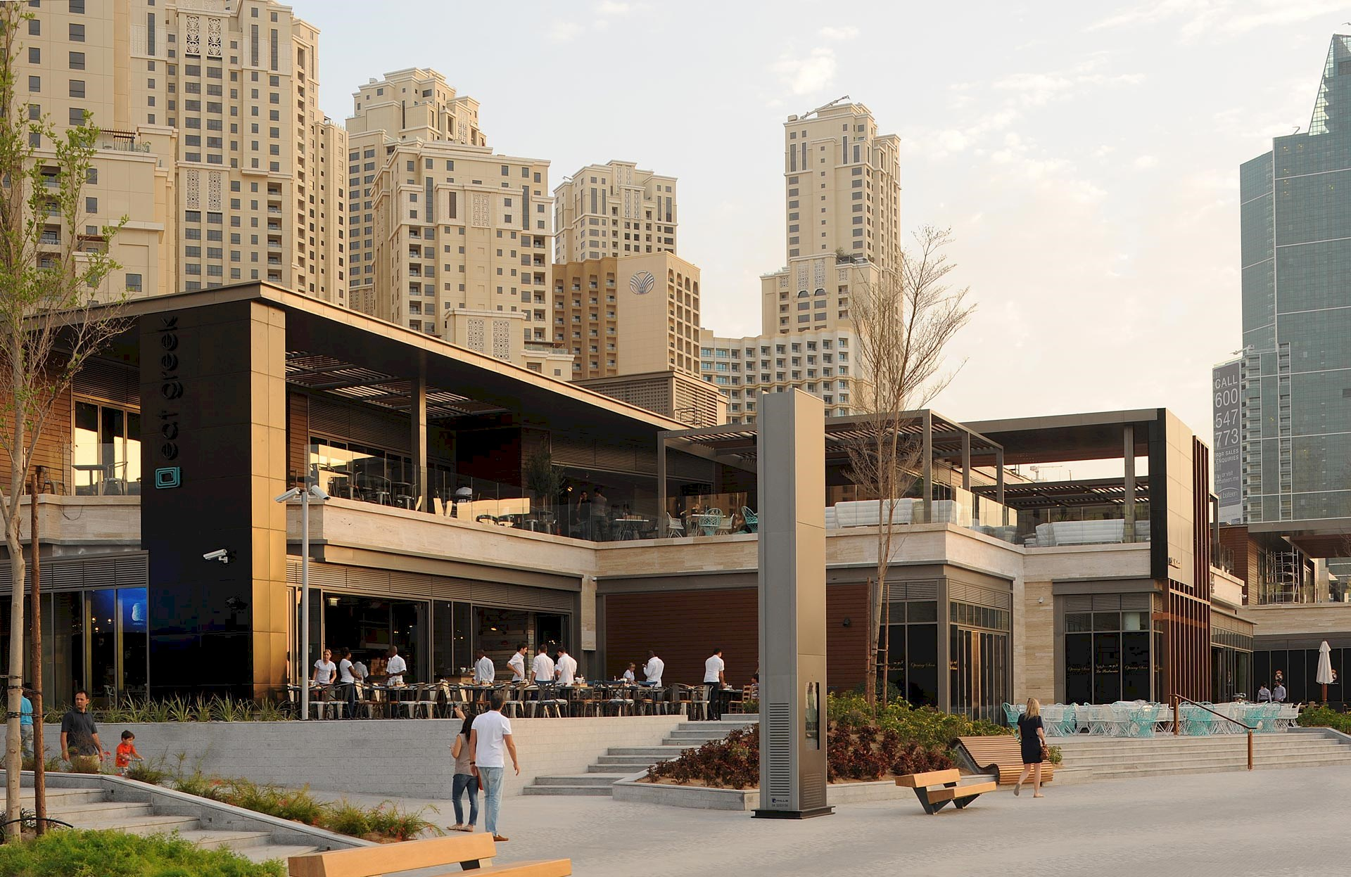 Benoy's The Beach in Dubai Named National Champion in the MEED Quality Awards
