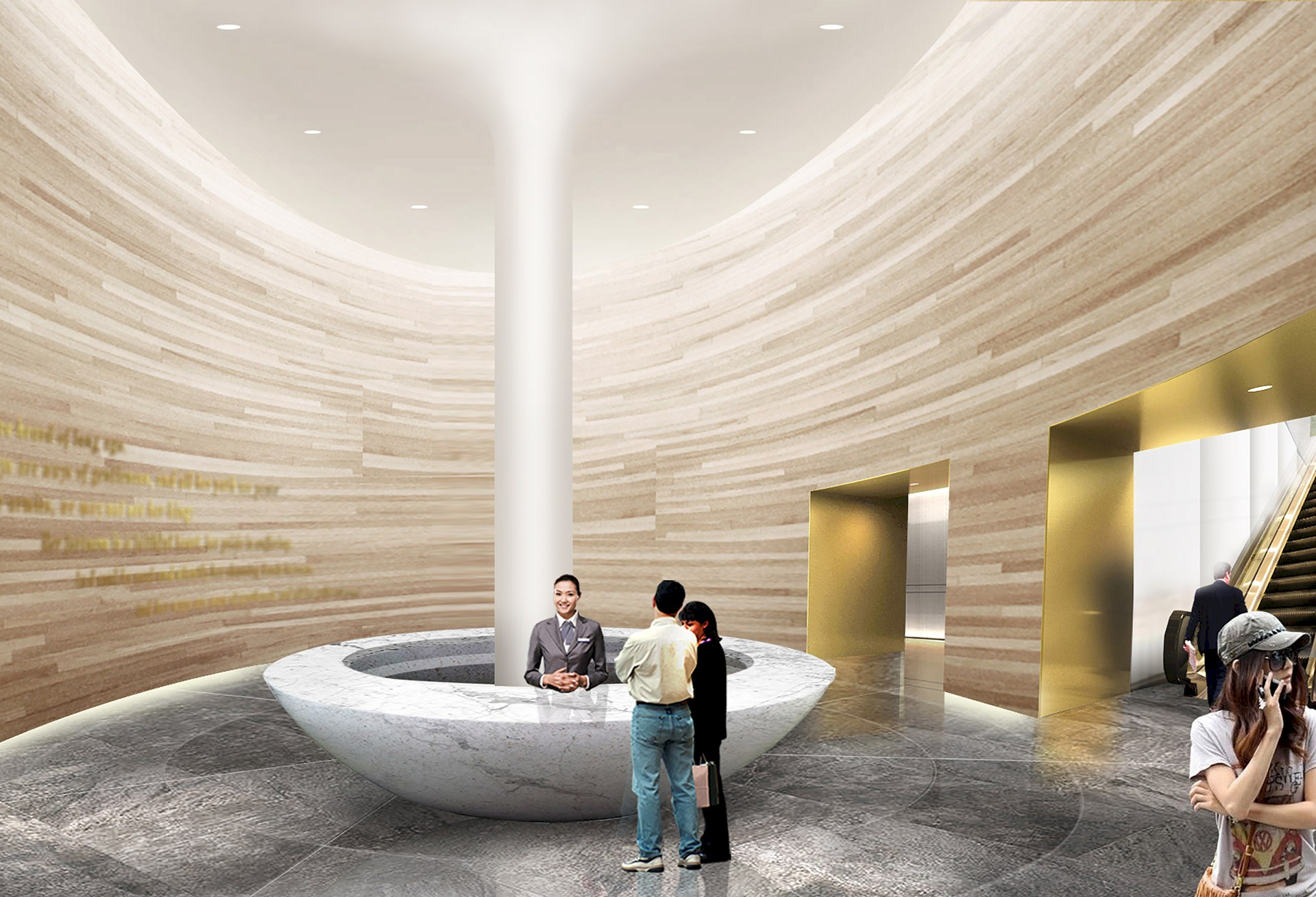 Benoy's Concept Design Reimagines a Foreign Embassy in Asia