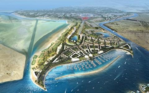 Yas Island Concept Masterplan