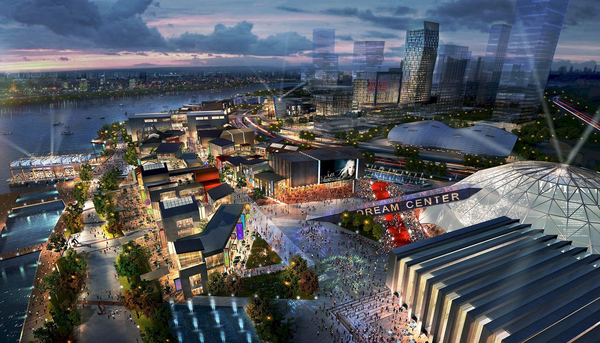 Benoy Masterplans DreamCenter Landmark in Shanghai