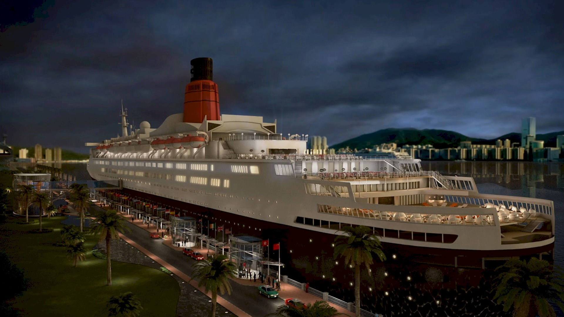 Benoy's Proposed Design Revealed for Luxury QE2 hotel