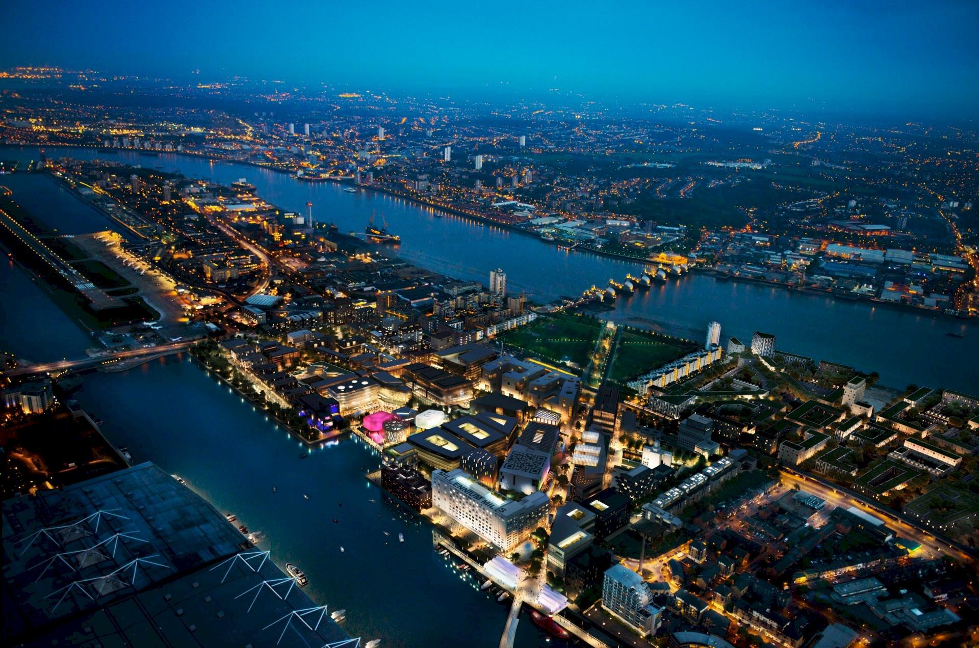 Benoy Announces Work on East London Icon - Silvertown