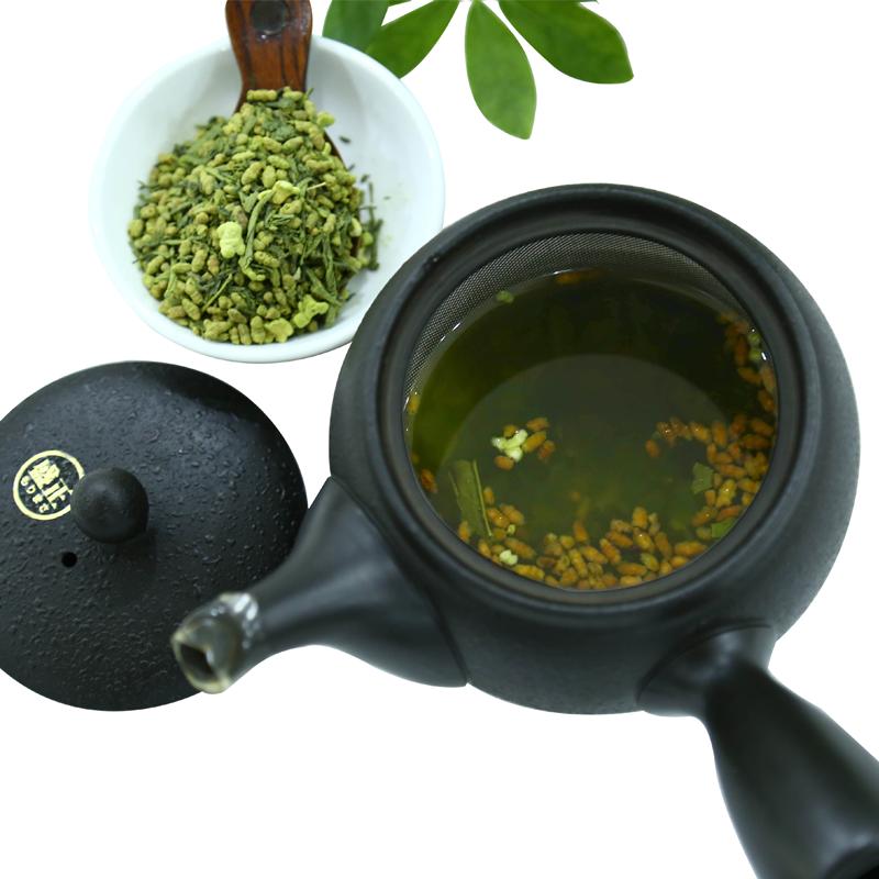 cách chế biến trà gạo rang genmaicha