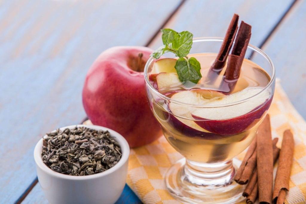 cách pha trà hoa quả ngon   Món Miền Trung