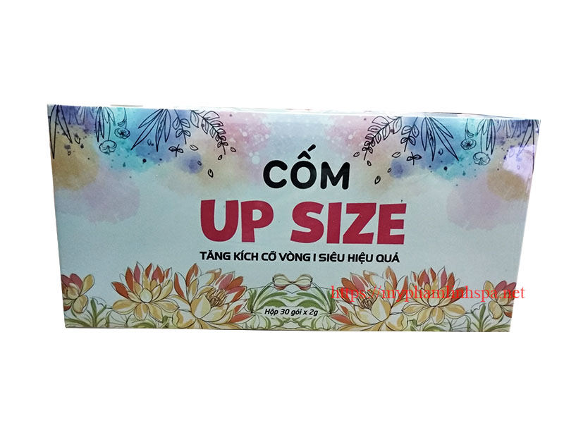 Cốm up size linh spa