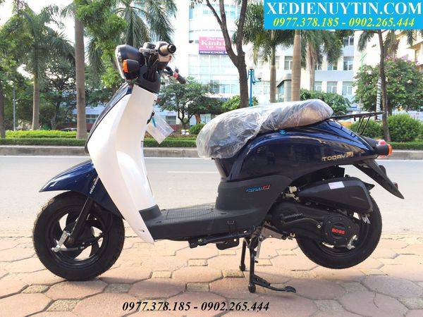 Review xe máy ga 50cc Scoopy Today 2018