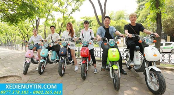 Cửa hàng bán xe đạp điện trả góp uy tín tại Hà Nội