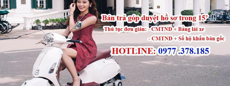 Mua xe đạp điện trả góp tại Hà Nội