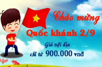 Vietnam Airlines khuyến mãi nhân ngày Quốc khánh 02/09/2016