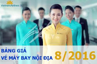 Vietnam Airlines khuyến mãi giá vé nội địa tháng 8, 9 và 10/2016