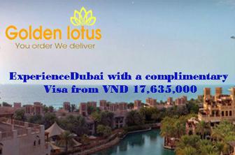 Tặng phí Visa đi Dubai khi bay cùng Emirates