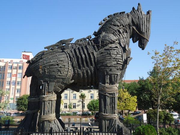 Ngựa thành Troy - Du lịch Thổ Nhĩ Kỳ