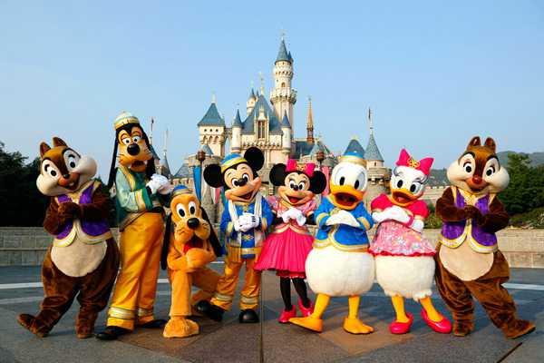 Cong vien Disneyland - Du lich Hong Kong