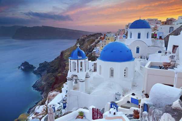 Santorini - Tour Hy Lap