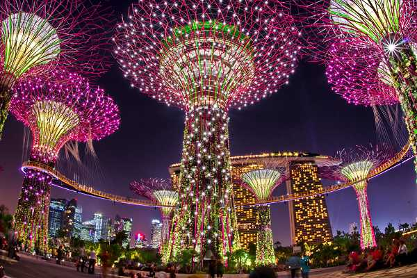 Garden by the bay - Du lich Singapore
