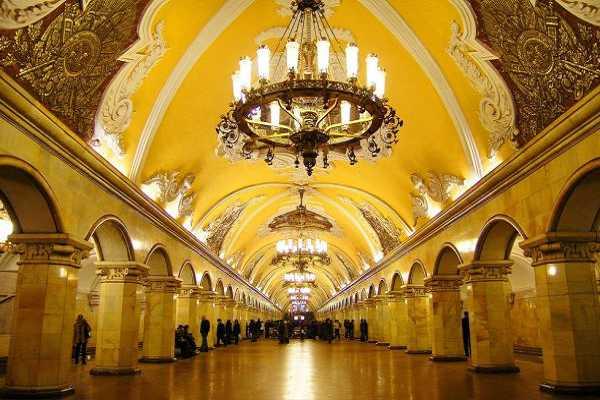 Metro - Moscow - Du lich Nga