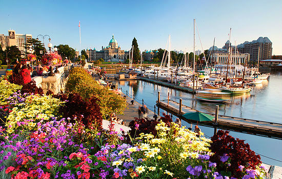thanh pho Victoria - Canada
