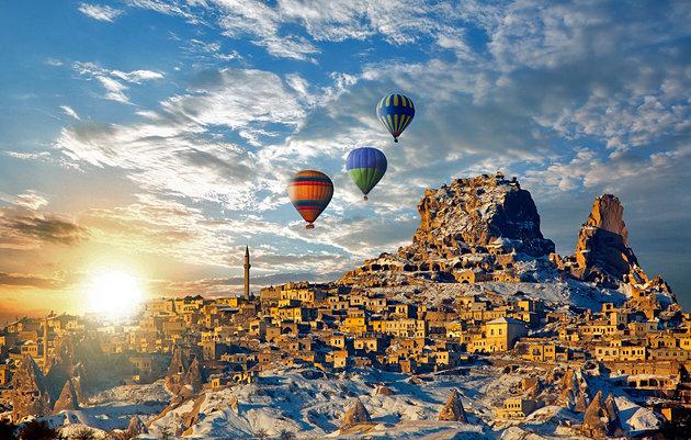 Capadocia - Du lịch Thổ Nhĩ Kỳ