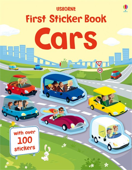 first-sticker-book-cars-sach-tieng-anh-cho-be
