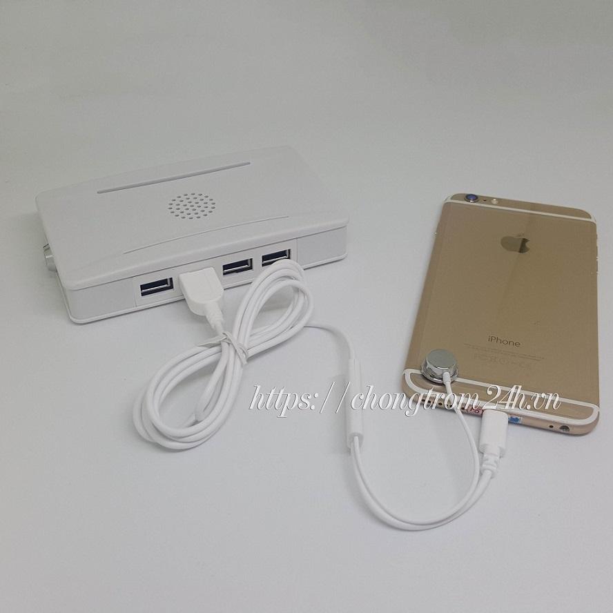 cáp sạc và chống trộm iphone