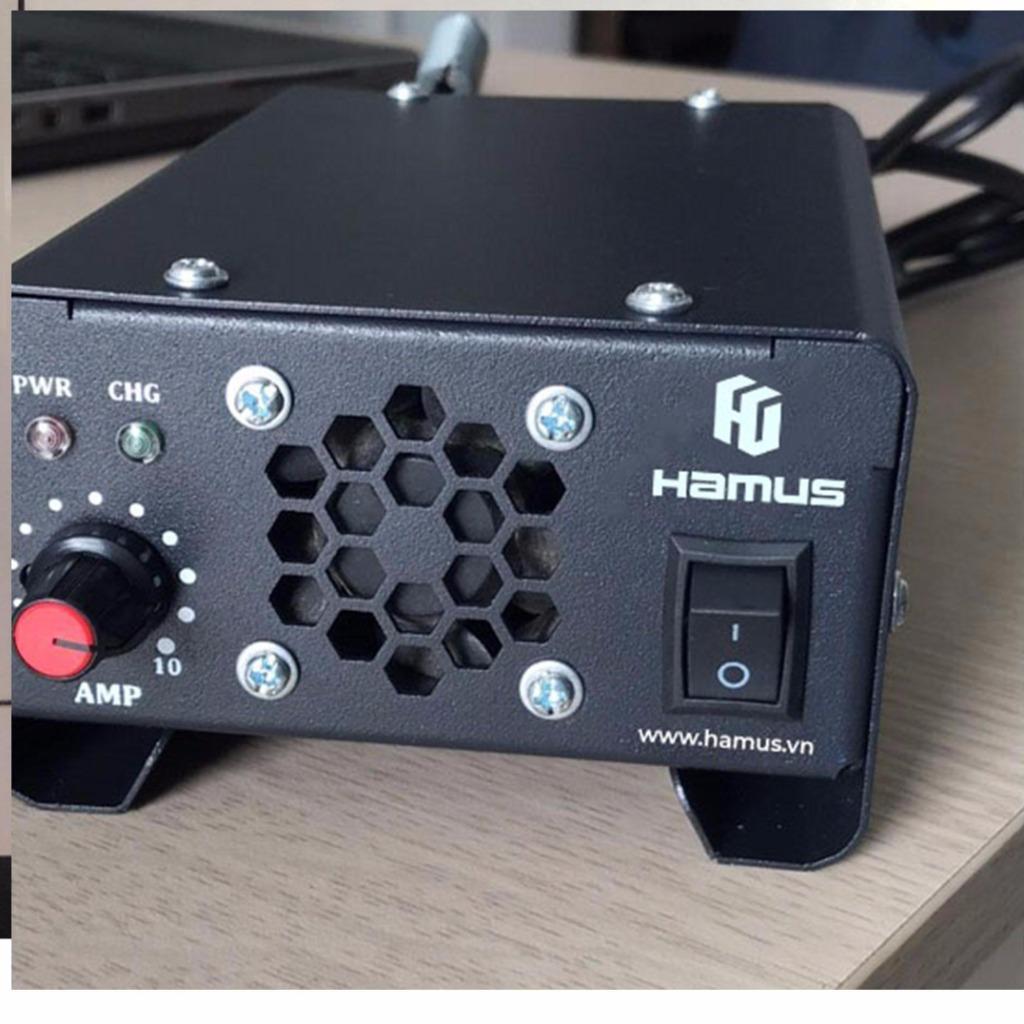 MÁY SẠC ẮC QUY TỰ ĐỘNG 12V-10A Hamus