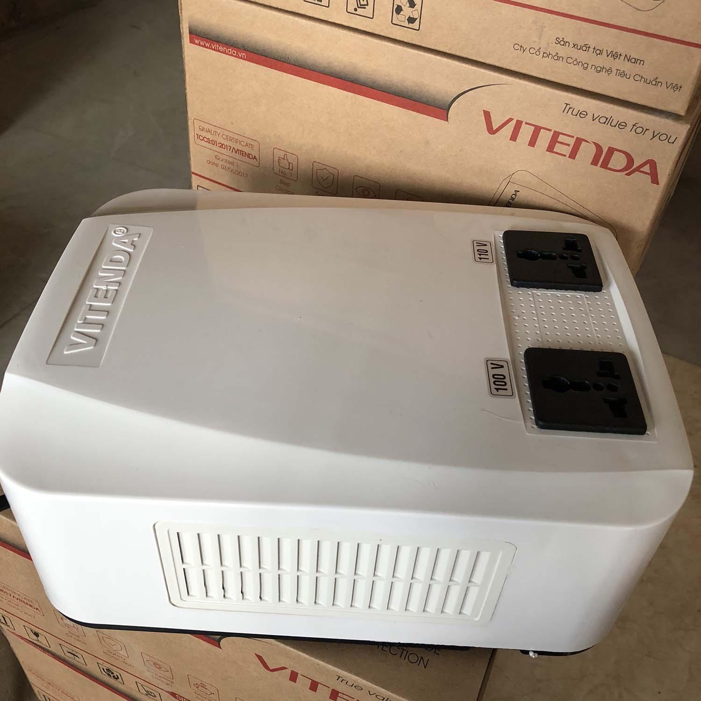 Biến áp đổi nguồn 1,5KVA Vitenda cao cấp từ 220V sang 110V(100V)