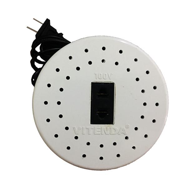 Bộ đổi nguồn nhựa tròn trong nhà 300VA Vitenda 100% dây đồng