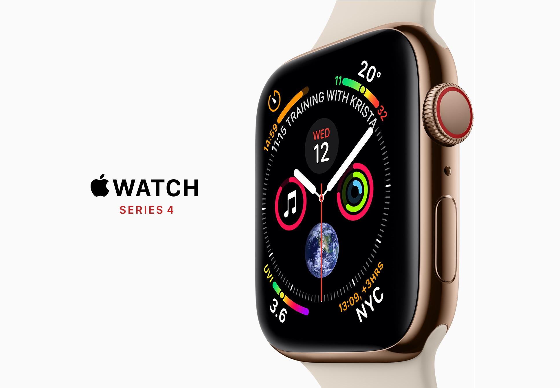So Sánh những khác biệt và thay đổi của Apple Watch Series 4 và Series 3