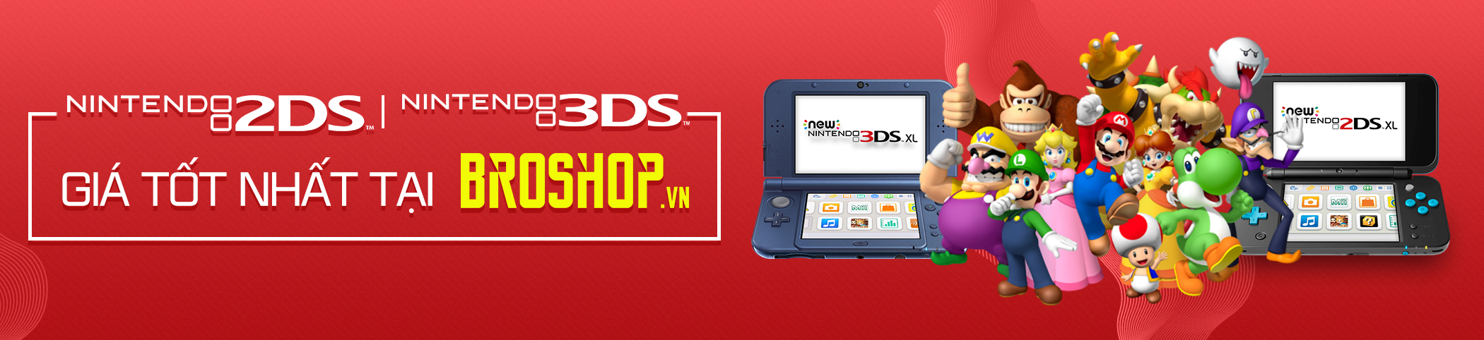 Nintendo 3DS 2DS mới