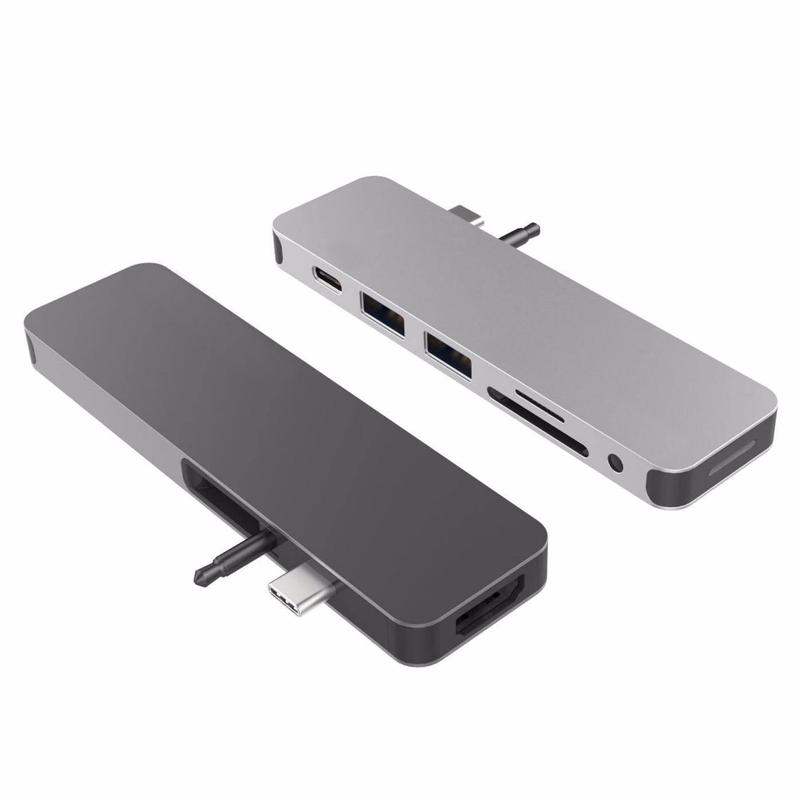 Cổng Chuyển HYPERDRIVE SOLO 7-IN-1 USB-C HUB FOR MACBOOK, PC