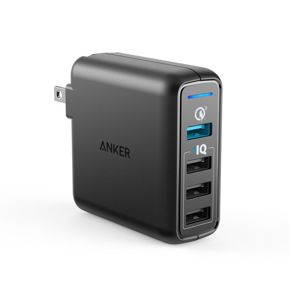 Sạc Anker PowerPort Speed 4 , 43.5w, 1 cổng Quick Charge 3.0 - A2040