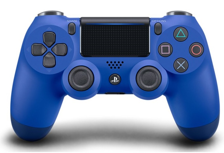 Tay cầm DualShock 4 Blue New (Slim Model)